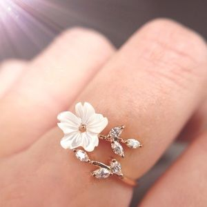 Jewelry - 🆕🎁 Rose Gold Floral Adjustable Ring